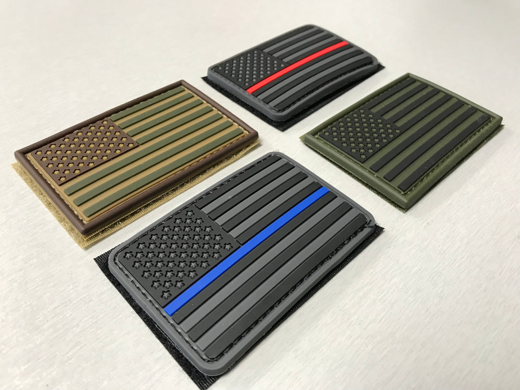 PVC Velcro Flag Patch