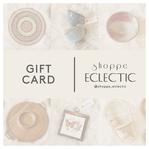 Shoppe Eclectic Gift Card