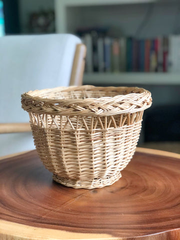 Wicker Planter Basket