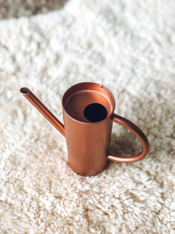Copper Colored Mini Watering Can