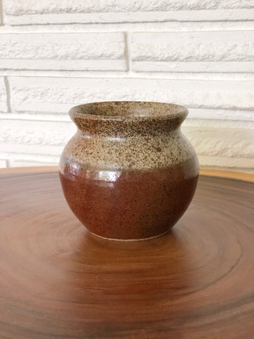 Vintage Pottery Vase, Signed & Dated '79