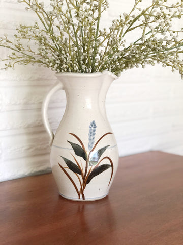 Handcrafted Ceramic Pitcher Vase