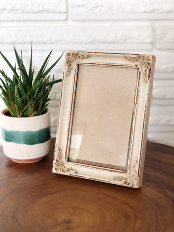 Small Distressed Wood Frame