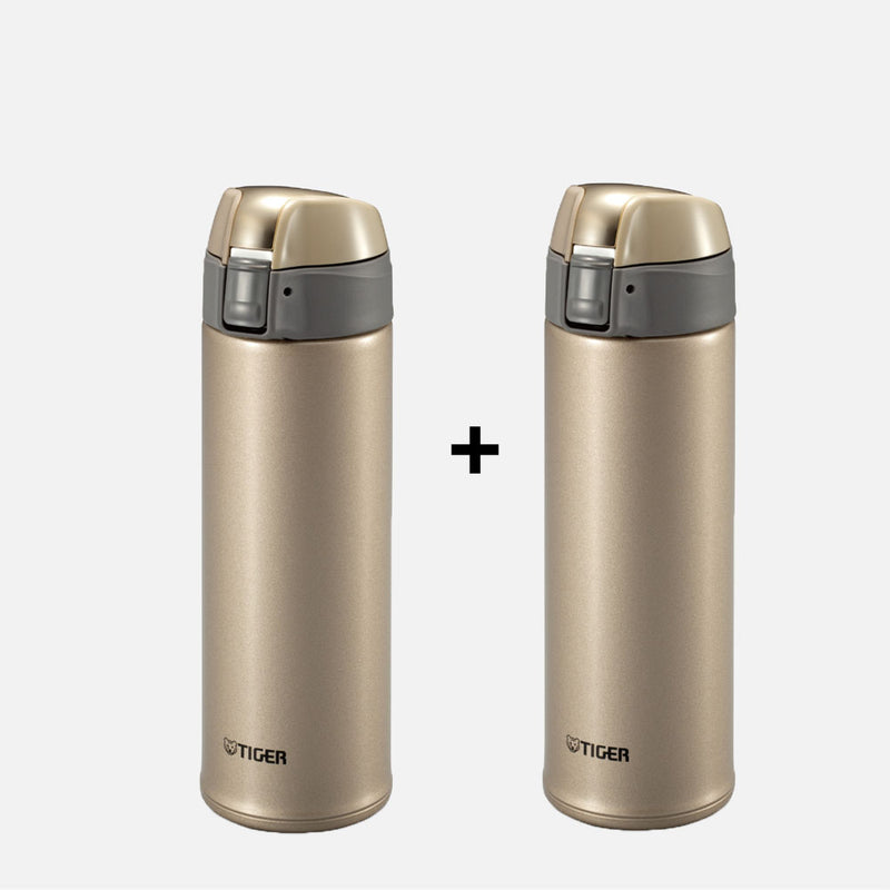 Tiger Stainless Steel Bottle MMQ-S050 Buy 1 Take 1