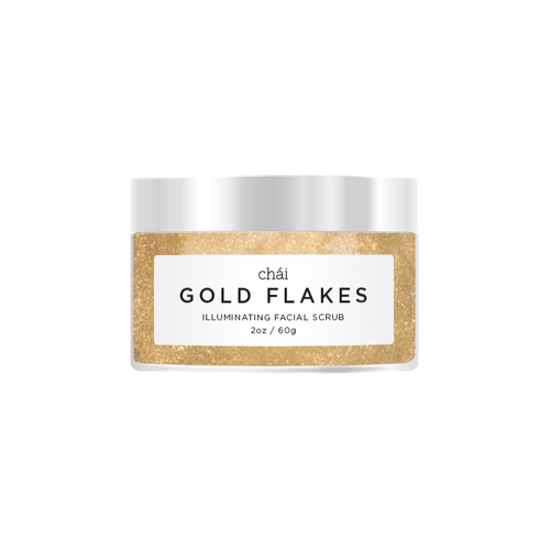 GOLD FLAKES Illuminating Facial Scrub