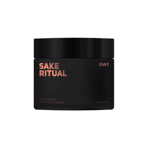 SAKE RITUAL Sake-Infused Whitening Cleanser
