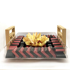 Arabesque Chocolate Tray - Caho Chocolatier