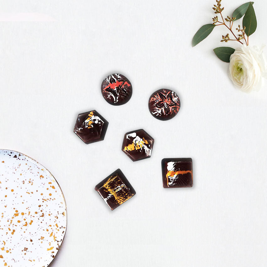 Artisan Chocolate Pieces Selection - Caho Chocolatier