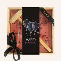 Birthday Greeting Bar - Caho Chocolatier