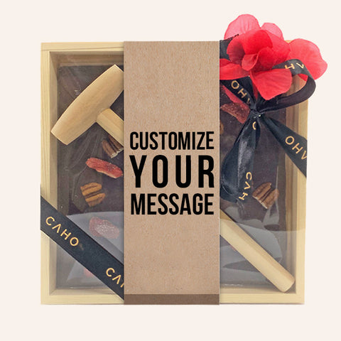 Customize Greeting Bar - Caho Chocolatier