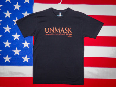 Men's Unmask T-Shirt / 100% Cotton