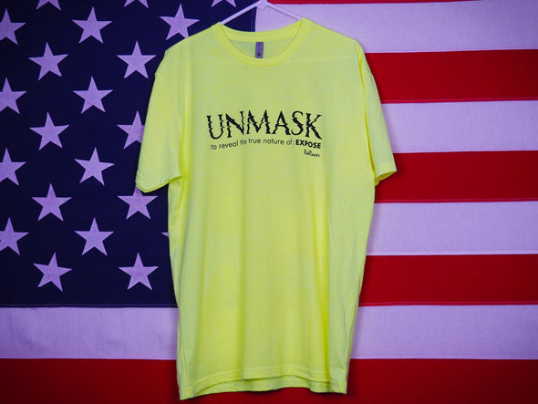 Men's Unmask T-Shirt / Premium Cotton-Poly Blend