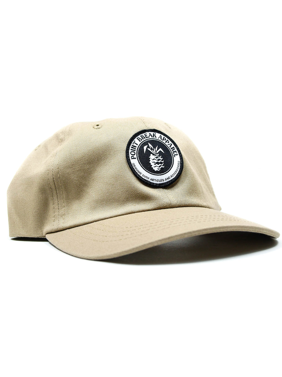 Patched Dad Hat, Khaki