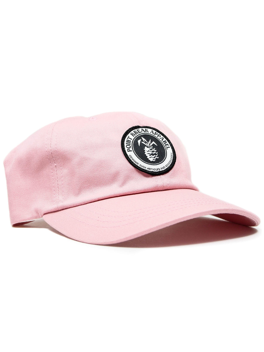 Patched Dad Hat, Pink