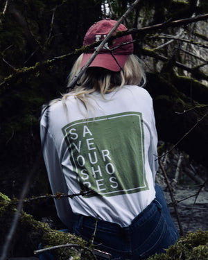 Save Our Shores Long Sleeve, Olive