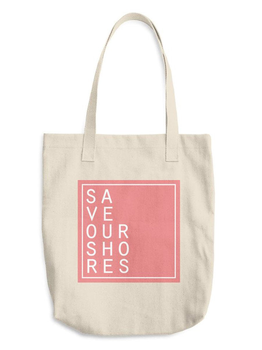 Save Our Shores Tote, Coral