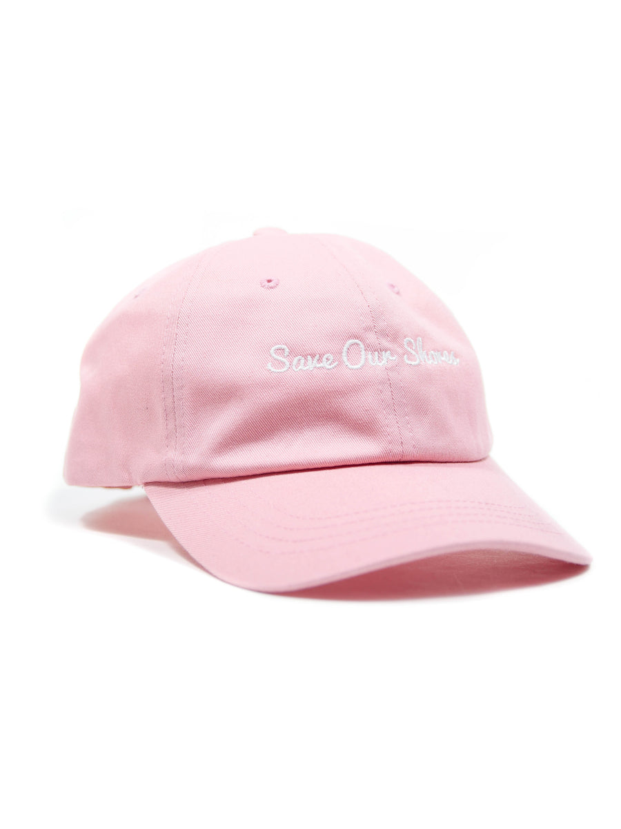 Save Our Shores Dad Hat, Pink