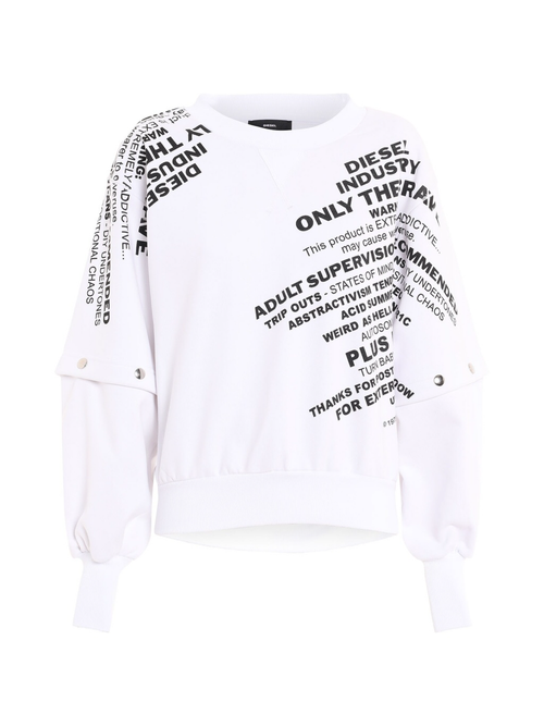 Diesel F-Ayala Sweat - White