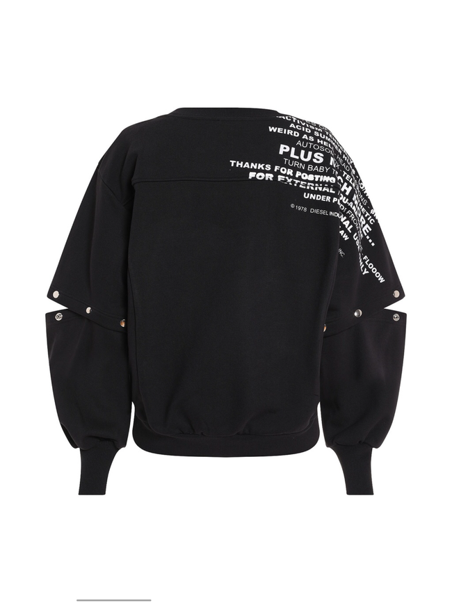 Diesel F-Ayala Sweat - Black