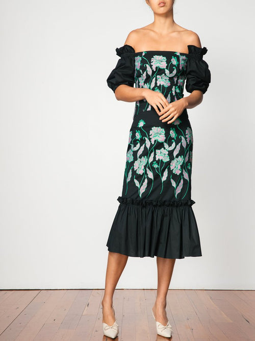Juliana Frill Dress