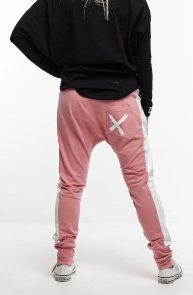 Home Lee Relaxer Pants - Rose Pink
