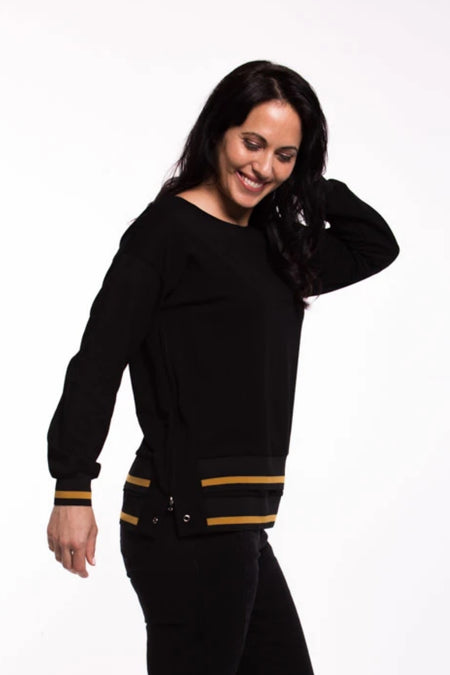 Zaylee Top - Black