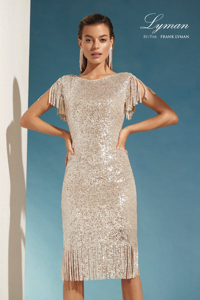 Frank Lyman Sequin Dress