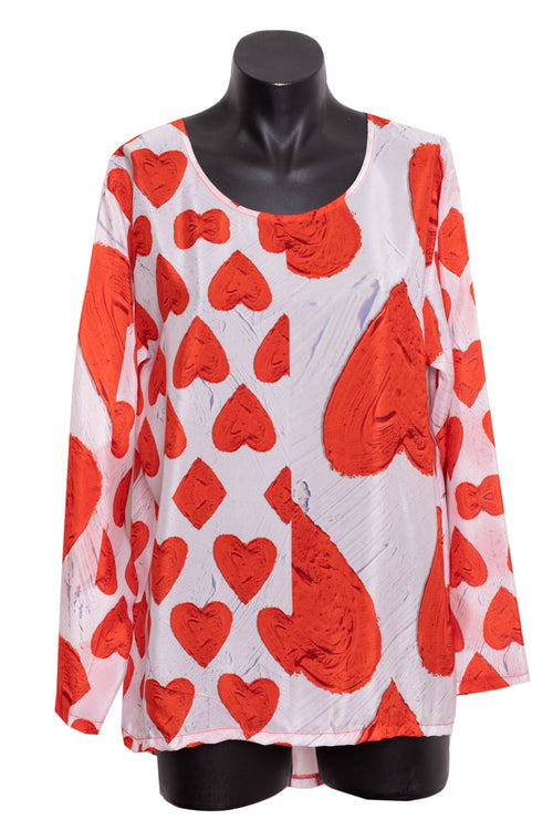 David Pond Perfect Tee - Queen of Hearts