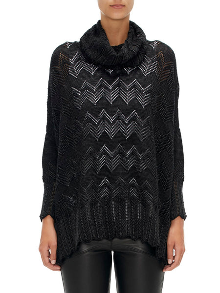 Lace Top - Coal