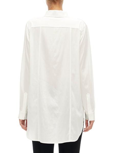 White Long-Sleeve Shirt - Sabatini