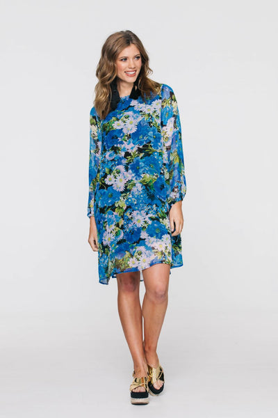 Shilo Dress - Boho Blue