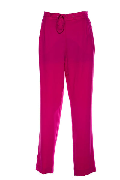 Pleated Pant - Hot Pink - David Pond
