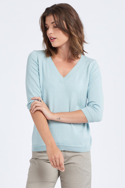 3/4 Sleeve Top - Optimum