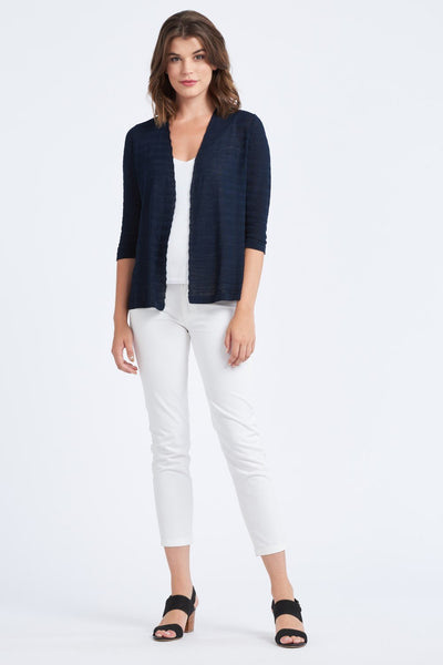 3/4 Sleeve Navy Cardi - Optimum