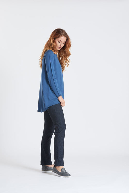 Flared Back Sweater - Optimum