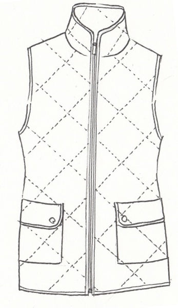 Quilted Vest - Paula Ryan