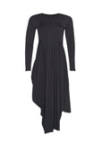 Spliced Crew Dress - Paula Ryan