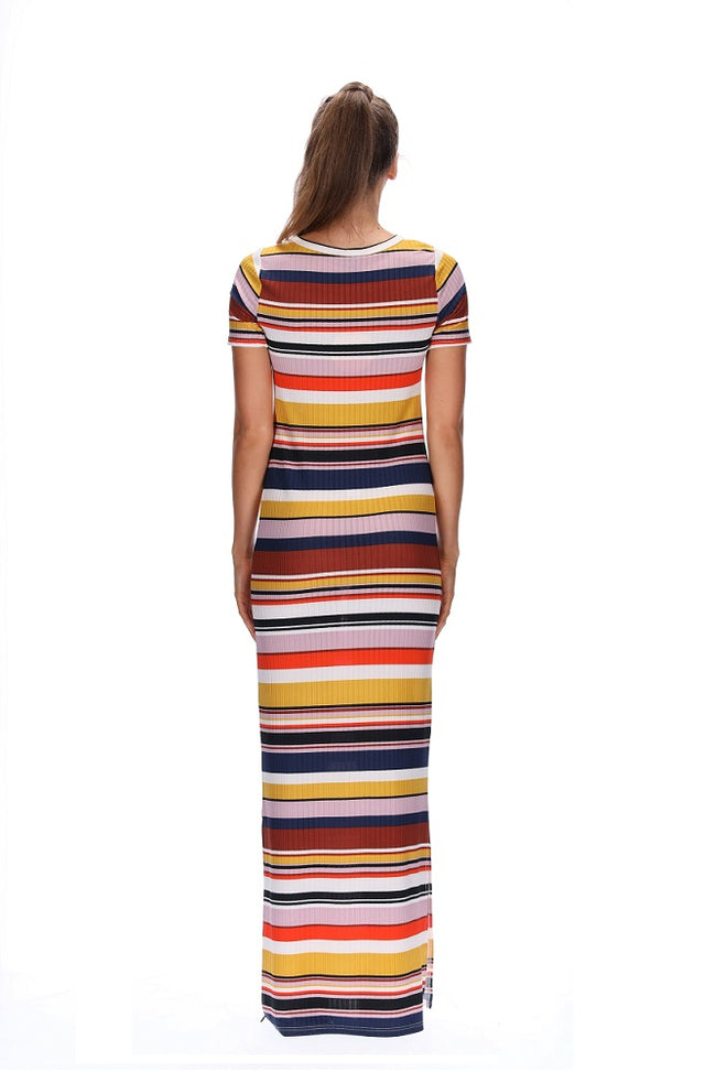 Amaya Rita Dress Stripe