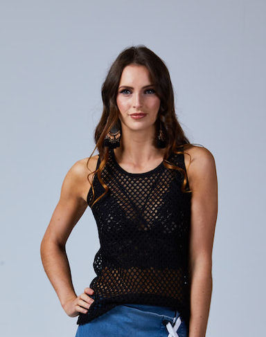 Avalon Mesh Top - Amaya