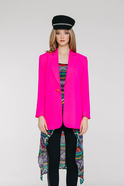 Benatar Jacket - Hot Pink - David Pond