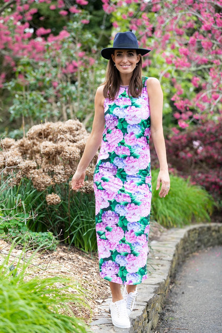Almighty Dress - Pink Floral