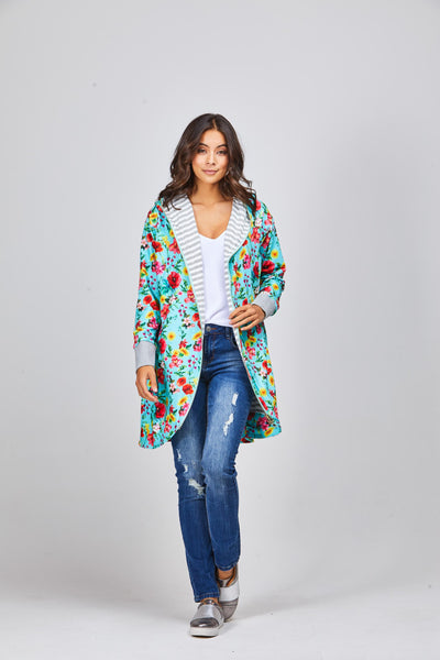 Stevie Reversible Cardi - Shine Fashion