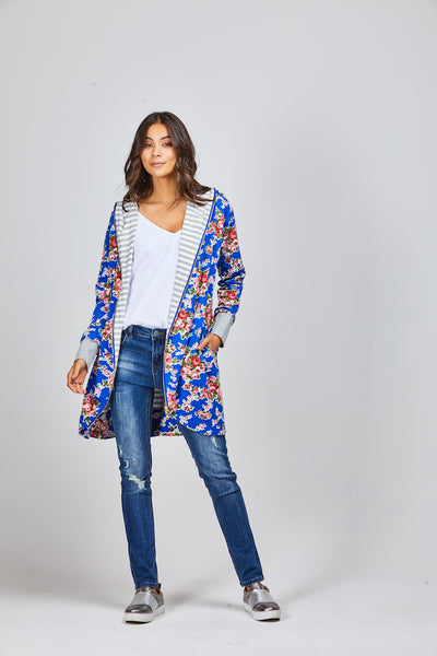 Eden Reversible Cardi - Shine Fashion