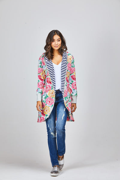 Kenzie Reversible Cardi - Shine Fashion