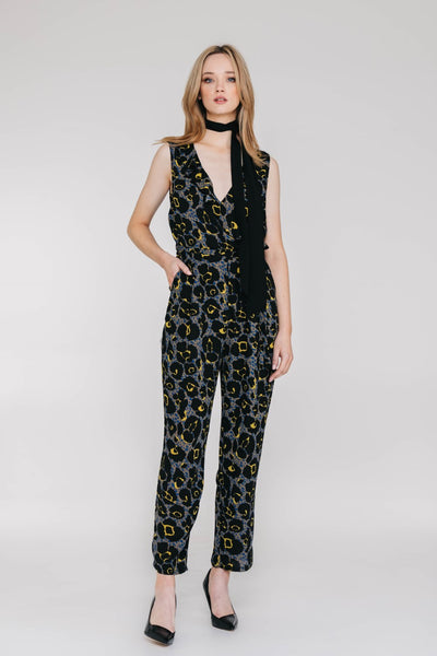 Chloe Jumpsuit - Jungle Yellow - Toby
