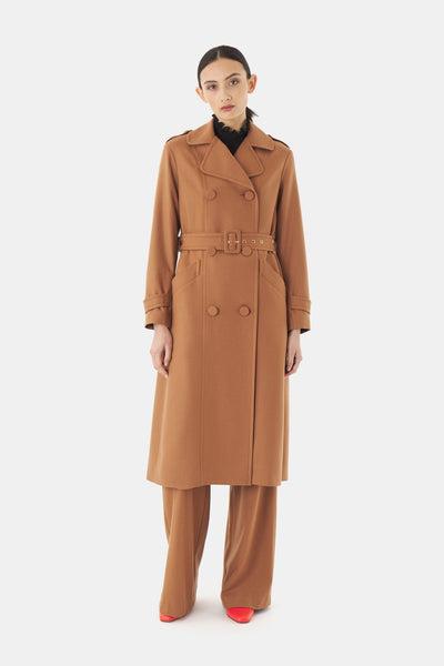 Kate Sylvester Edie Coat - Tan