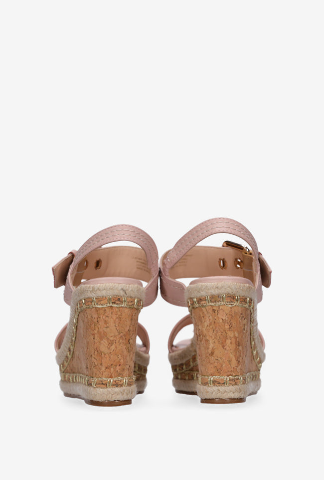 Lola Wedge - Blush Glitter