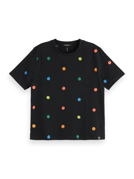 Scotch & Soda Relax Tee - Black