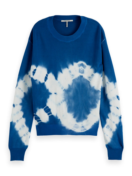 Scotch & Soda Biscose Tie Dye Pullover Knit