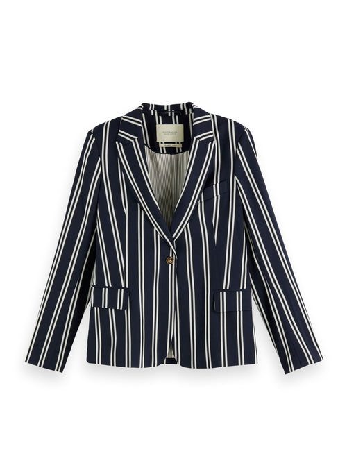Scotch & Soda Tailored Blazer - Striped